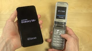 Samsung Galaxy S8 Plus vs. Samsung C3590 Flip Phone - Which Is Faster?