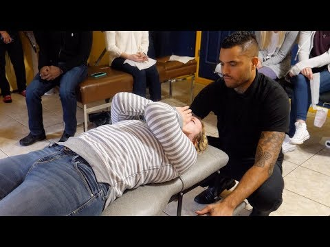EMOTIONAL BREAKTHROUGH During Chiropractic Adjustment W/ Dr. Brett Jones