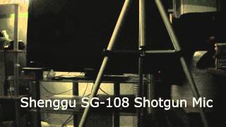 Shenggu SG-108 Shotgun Mic Test/Comparison
