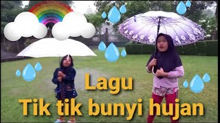 Tik Tik Bunyi Hujan   Lagu anak Populer   Syifa salsa main hujan