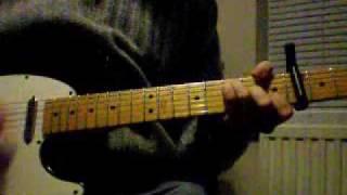 The Smiths - Bigmouth Strikes Again (guitar cover)