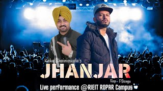 dBanga Live performance Jhanjar @Rayat college ropar