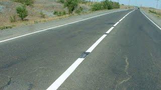 Опасности дорожной разметки! Неожиданный занос на дороге