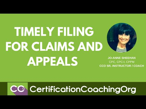 Timely Filing For Claims And Appeals | Medical Billing Tips