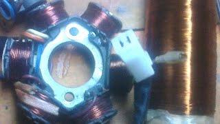 Cara Membuat Spul / Lilitan Bag.pengapian Motor