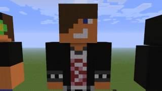 Minecraft - Posągi ; Let