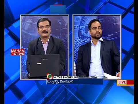 Raybiztech MD Ajay Ray & COO Ajay Gupta on Mahaa News Talk Show
