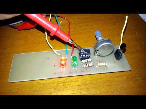 Sensor suhu lm35 sederhana
