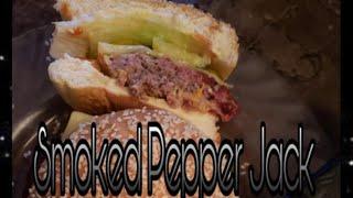 PEPPER JACK SMOKED HAMBURGERS