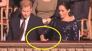 Meghan Markle and Prince Harry's adorable PDA moment for date night
