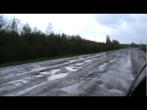 дорога Мантурово-Кострома в мае.MPG