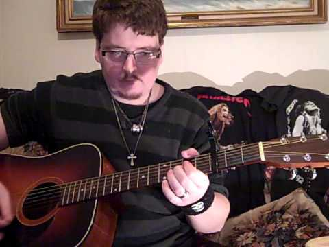 me showing you HOW TO PLAY 'RED DIRT ROAD' by BROOKS & DUNN on ACOUSTIC GUITAR