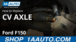 How to Replace CV Axle Shaft 02-05 Mercury Mountaineer