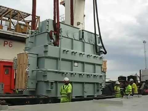 MARINE SURVEYOR conduct a Ship Engineering Surveyor Break Bulk Discharge Cargo of 65MT Cargo