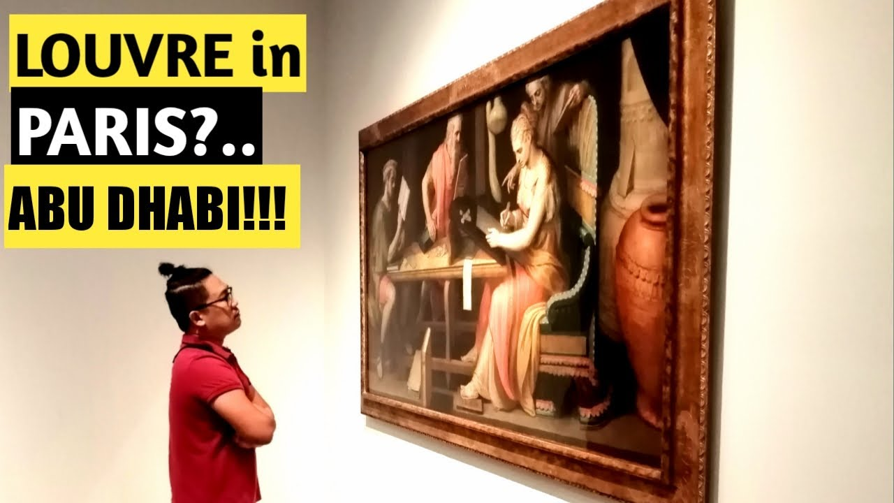Mona Lisa and other art masterpieces at the Louvre with