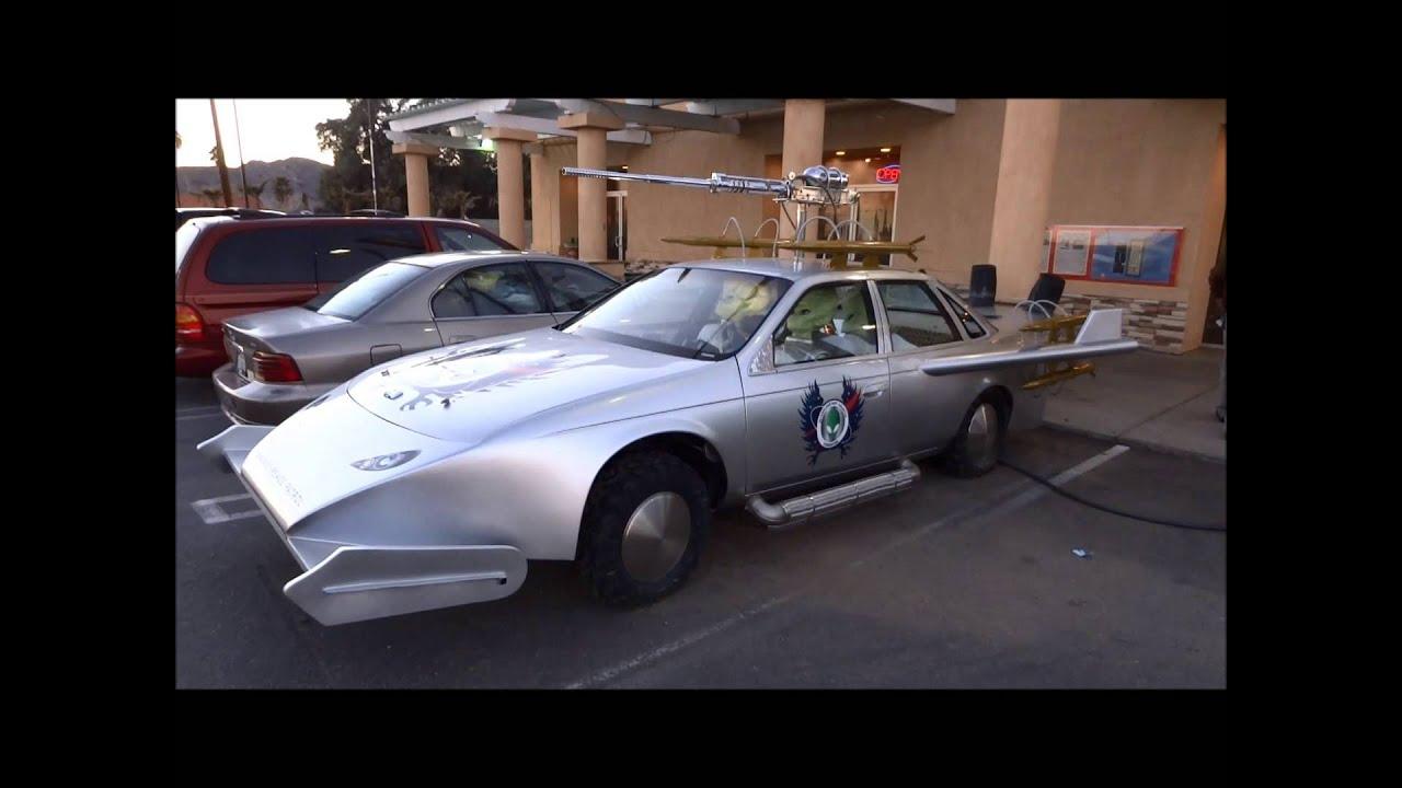 Alien Fresh Jerky UFO Car Baker California Death Valley Road Mojave Desert  I 15 SR127
