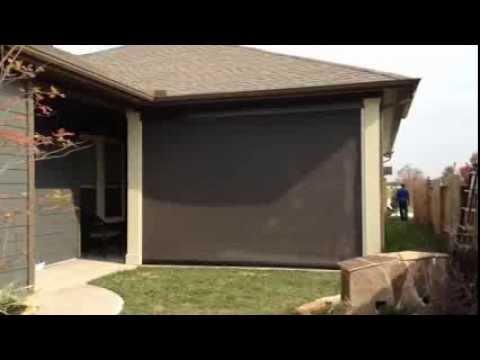 Roll-Up Solar Screens