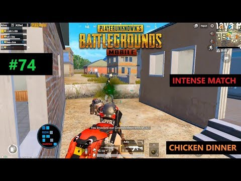 PUBG MOBILE | MY TEAM MATE THOUGHT I WAS HACKING! INTENSE MATCH CHICKEN DINNER