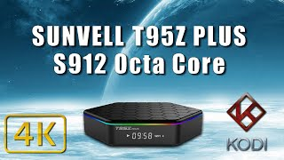 sunvell t95z plus amlogic s912 octa core android 6 0 tv box