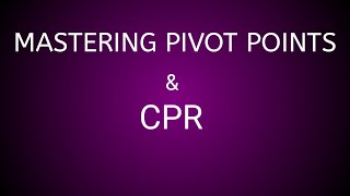 Mastering Pivot Points(Pivot Points Trading Strategy)