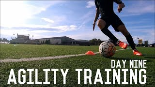 Agility and Reaction Training | The Pre-Preseason Program | Day Nine
