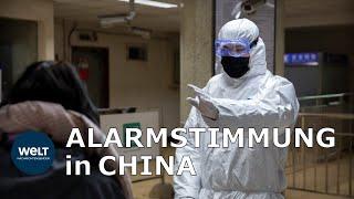 CORONAVIRUS AUS WUHAN: Immer mehr Tote und Kranke - Chinas Regierung alarmiert