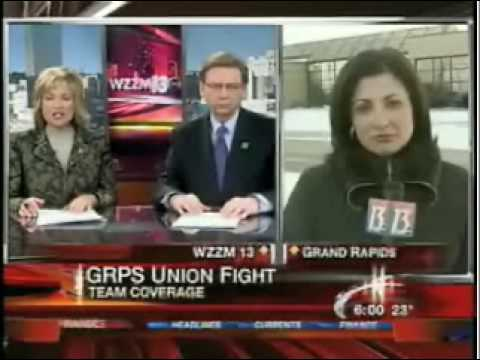 Education Action Group: WZZM 13 News story on Grand Rapids recording