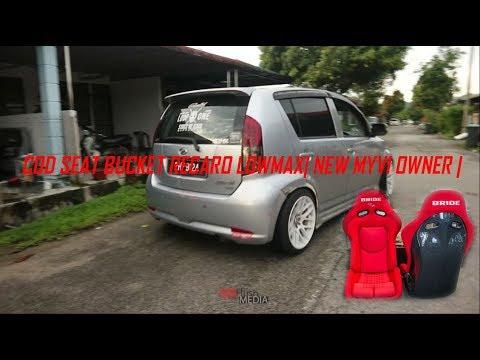 VLOG COD SEAT BUCKET RECARO LOWMAX| NEW MYVI OWNER |