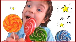 Children Song with Makar and Nika - Red color where are you? Stories for Kids