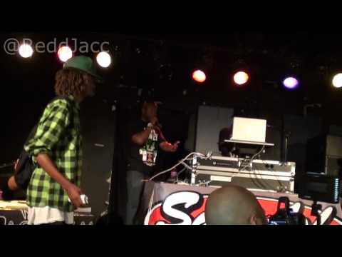 Raleighs NC Hottest Producer ReddJacc BLANKING AT BEAT BATTLE 2012!