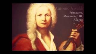 Antonio Vivaldi - Primavera, Movimento III. Allegro