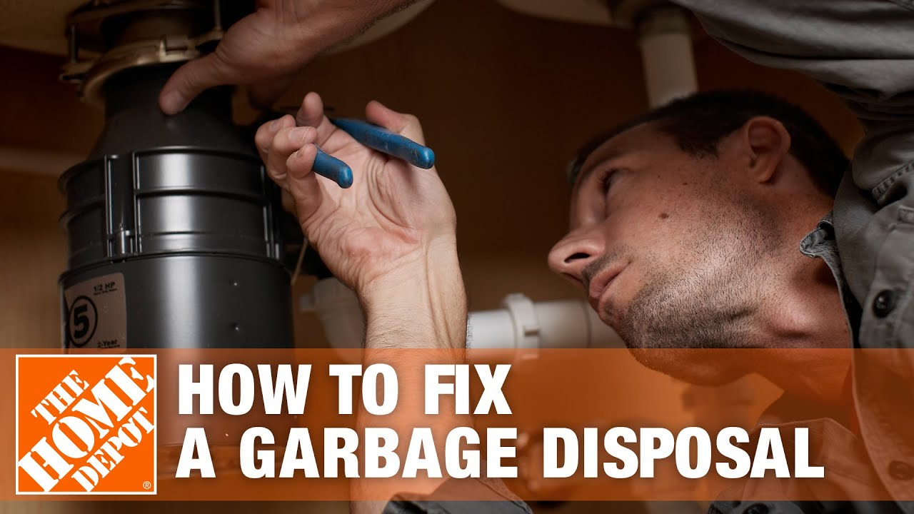 How To Fix A Garbage Disposal The Home Depot