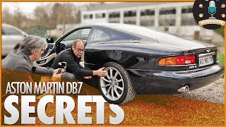 🚗 ASTON MARTIN DB7・SECRETS DE DESIGN
