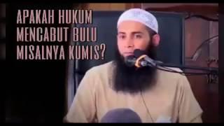 Apakah hukum mencabut bulu misalnya kumis - Ustadz Dr Syafiq Riza Basalamah MA thumbnail