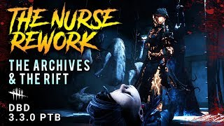 THE NURSE REWORK & The Archives - Dead by Daylight 3.3.0 PTB Guide