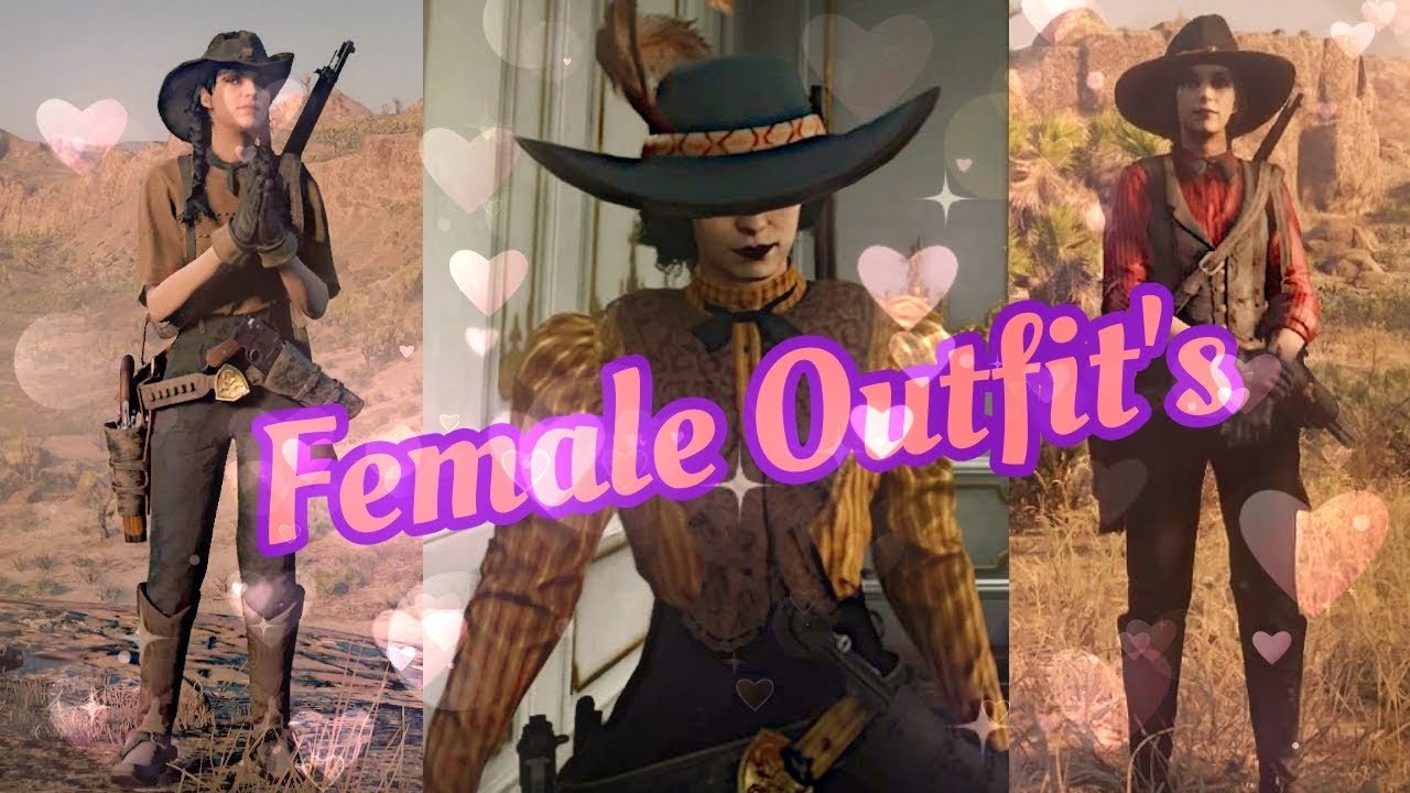 Red Dead Redemption 2 Online Female Outfit Rdr2 Youtube