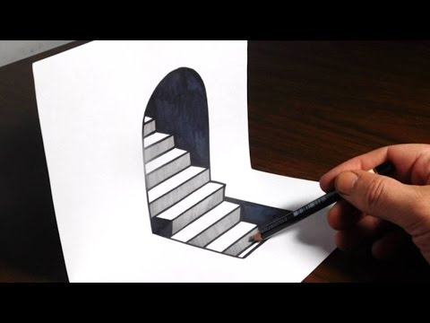 how-to-draw-3d-steps---easy-trick-art