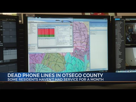 Dead Phone Lines in Otsego County