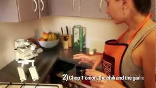 Kitchen Robot: Tomato soup recipe