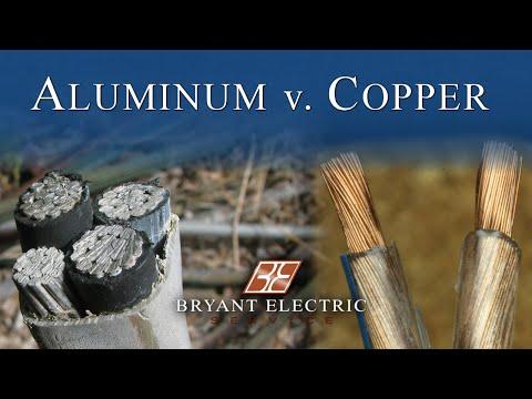aluminum vs copper wiring bryant electric service rh bryantelectricservice com copper vs aluminum wiring aluminium or copper wiring