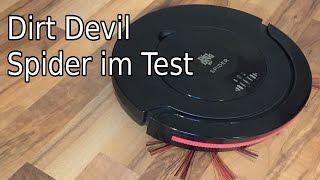 Lohnt sich ein Staubsauger Roboter? Dirt Devil Spider im Test!