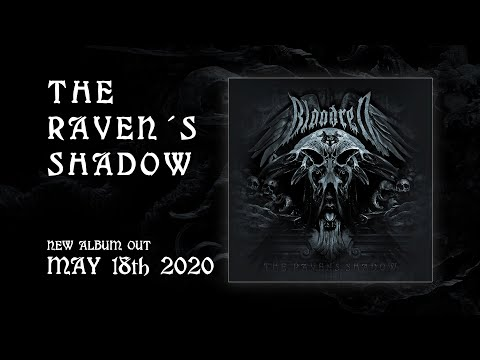 "BLOODRED - ""The Raven's Shadow"" (Album 2020 Announcement)"