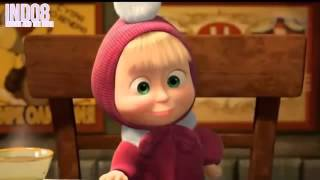 Masha and the bear new episodes 2015 in english full HD - маша и медведь - маша плюс каша