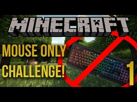 minecraft on laptop without mouse