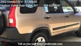 2002 Honda CR-V EX AWD 4dr SUV For Sale In Hudson, NY 12534
