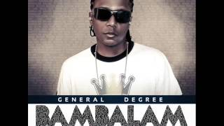 "GENERAL DEGREE - BUSS A WINE remix ""BAMBALAM"" EP (July 2014)"