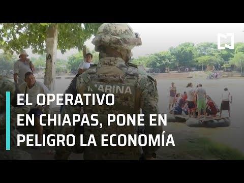 Operativo contra migración; economía en Tapachula en peligro - En Punto con Denise Maerker