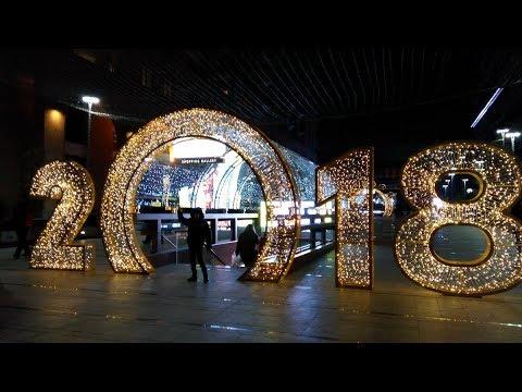 Влог с новогодних Улиц Еревана - New Year Yerevan 🎄🎁🎅🍭