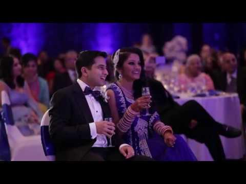 Parents Surprise Bollywood Wedding Dance