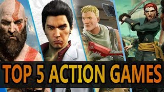 Top 5 Action Games to Play RIGHT NOW!!!